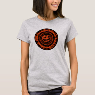 Happy Halloween- Jack O Lantern Orange T-Shirt
