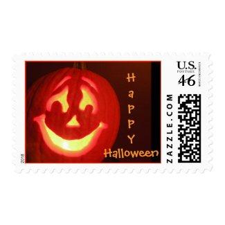 Happy Halloween Jack-O-Lantern Stamps