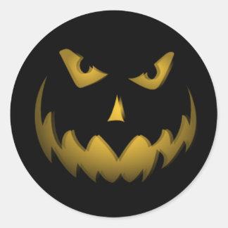 Happy Halloween Jack-o-lantern Sticker