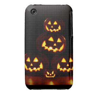 Happy Halloween-Jack-o'-lanterns iPhone 3 Covers