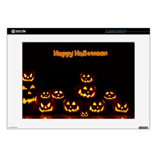 Happy Halloween-Jack-o'-lanterns Laptop Skins