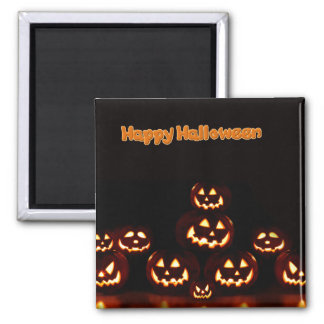 Happy Halloween-Jack-o'-lanterns Magnet