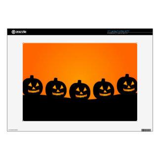 Happy Halloween Jack O Lanterns Skin For Laptop
