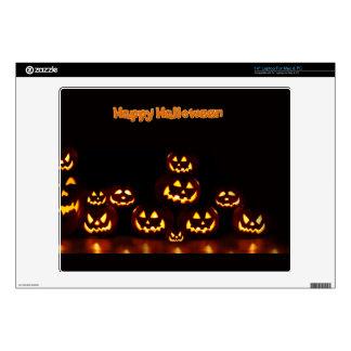 Happy Halloween-Jack-o'-lanterns Skins For Laptops