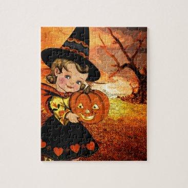 Halloween Themed HAPPY HALLOWEEN JIGSAW PUZZLE