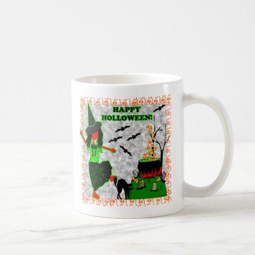 Happy Halloween Joyful Design Mugs