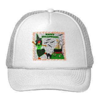 Happy Halloween Joyful Design Trucker Hat