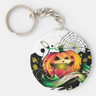 Happy Halloween Key Chain