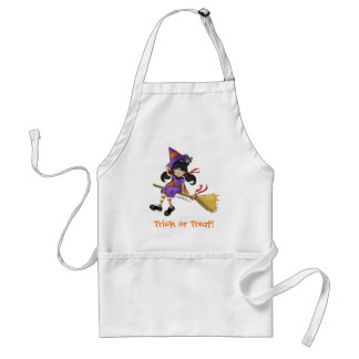 Happy Halloween Kid Witch Apron for Kids & Adults