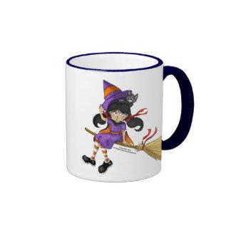 Happy Halloween Kid Witch Mug