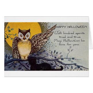 Happy Halloween Kindred Spirits Card