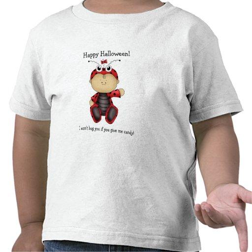 Happy Halloween!-Ladybug Fun Shirts