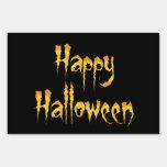 Happy Halloween Lawn Sign