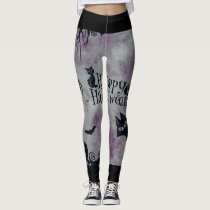 Happy Halloween Leggings