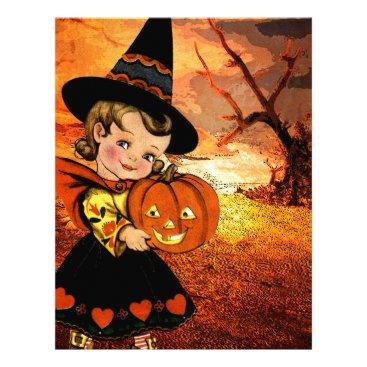 Halloween Themed HAPPY HALLOWEEN LETTERHEAD