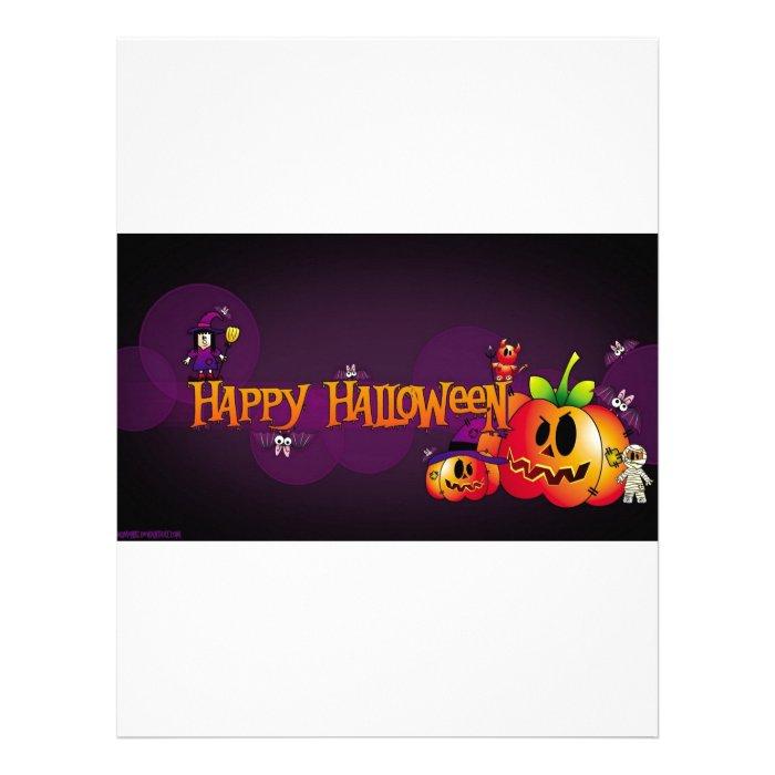 Happy Halloween Letterhead