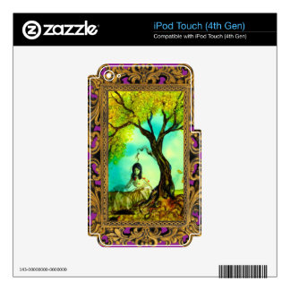 Happy Halloween Little Princess iPod Touch 4G Skins