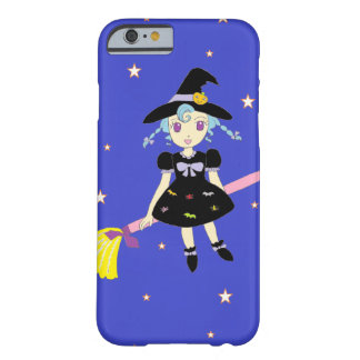 Happy Halloween Little Witch Girl Barely There iPhone 6 Case