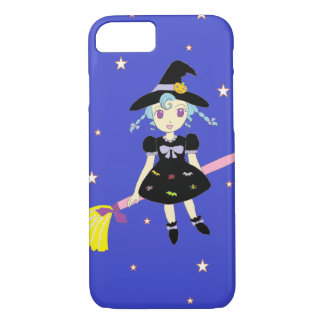 Happy Halloween Little Witch Girl iPhone 8/7 Case