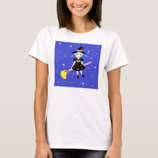 Happy Halloween Little Witch Girl T-Shirt