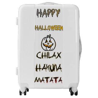 Happy Halloween Look good, feel safe Chilax Luggage