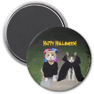 Happy Halloween! Fridge Magnets