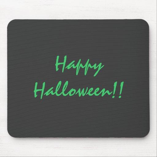 Happy Halloween!! Mouse Pad