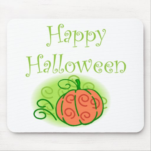 Happy Halloween Mouse Pads