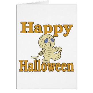 Happy Halloween Mummy Card