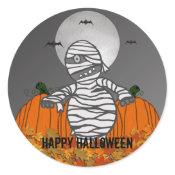 Happy Halloween: Mummy Stickers sticker