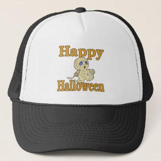 Happy Halloween Mummy Trucker Hat