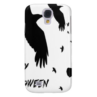 Happy Halloween Murder of Crows Samsung Galaxy S4 Cover