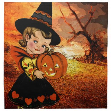 Halloween Themed HAPPY HALLOWEEN NAPKIN