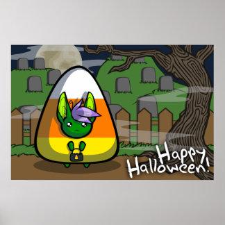 Happy Halloween Neekksy Poster