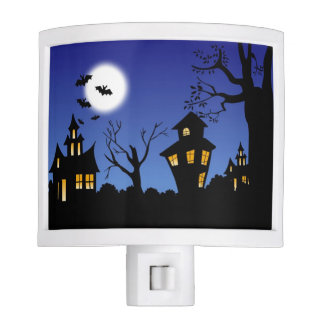 Happy Halloween Night Night Light