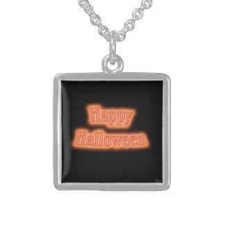 Happy Halloween orange glow Jewelry
