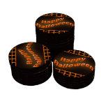 Happy Halloween Orange Poker Chips Set