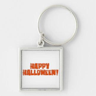 Happy Halloween Orange Text image Eastwood Keychain