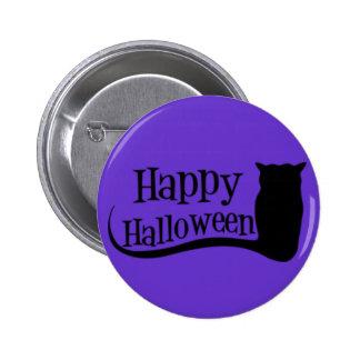 Happy Halloween Owl Pins