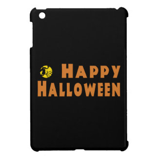 Happy Halloween Owl Tree Branch iPad Mini Cover
