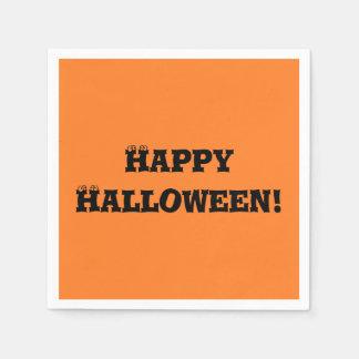 """Happy Halloween"" Paper Napkins"