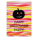 HAPPY HALLOWEEN PARTY! CARDS