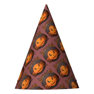 Halloween Themed Happy Halloween Party Hat