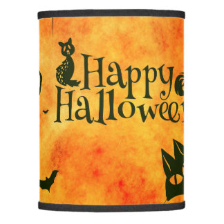 Happy Halloween Pattern Lamp Shade