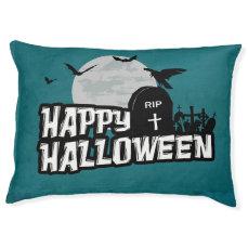 Happy Halloween Pet Bed