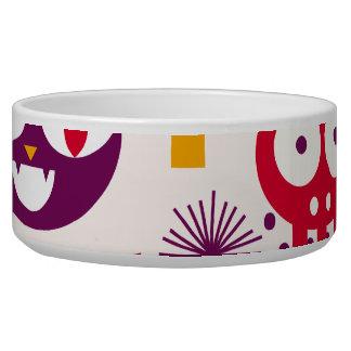 Happy Halloween Pet Food Bowl