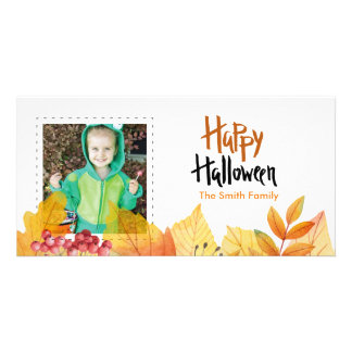 Happy Halloween Photo Card