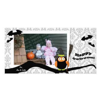 Happy Halloween Photo Card - Owl