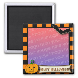 Happy Halloween Photo Frame Magnet - TBA