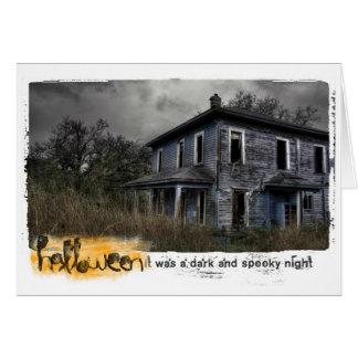 Happy Halloween Photography Card